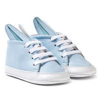 Minna Parikka Pale Blue and White Baby Bunny Trainers Pale Blue
