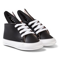 Minna Parikka Black and White Baby Bunny Trainers Black