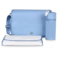 Armani Junior Changing Bag Pale Blue 00332
