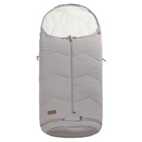 Voksi Voksi Footmuff Sky Light Incl. Extension Light Grey Musta