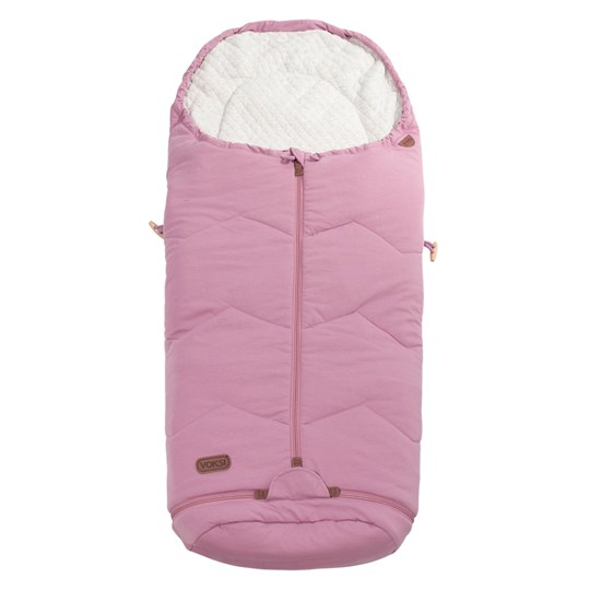 Voksi Voksi Footmuff Sky Light Incl. Extension Light Pink Pink
