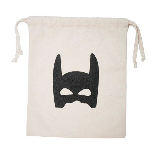 Tellkiddo Superhero Small Fabric Bag White