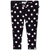 Little Marc Jacobs Spot Jersey Trousers Black, White and Pink 09B