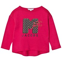 Little Marc Jacobs Pink Marc MTV Print Tee 49A
