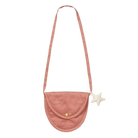 Cam Cam Organic Lua Bag Dark Blush/Gold Dot Blush