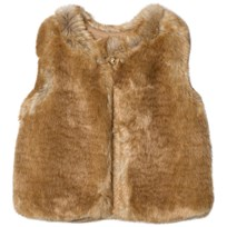 Chloé Tan Faux Fur Gilet 276