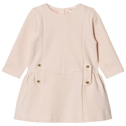 Chloé Milano Dress with Branded Hardware Pale Pink