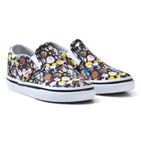 Vans Kids Vans X Peanuts Classic Slip-On Shoes (Peanuts) The Gang/black