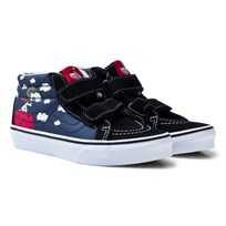 Vans Vans X Peanuts SK8-Mid Reissue Shoes Ink Blue (Peanuts) Flying Ace/dress blues