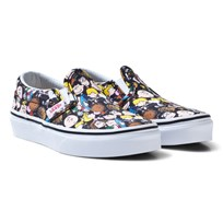Vans Vans X Peanuts Classic Slip-On Shoes (Peanuts) The Gang/black
