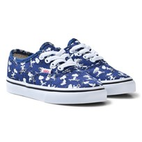 Vans Kids Vans X Peanuts Authentic Shoes Snoopy/Ink Blue (Peanuts) Snoopy/skating