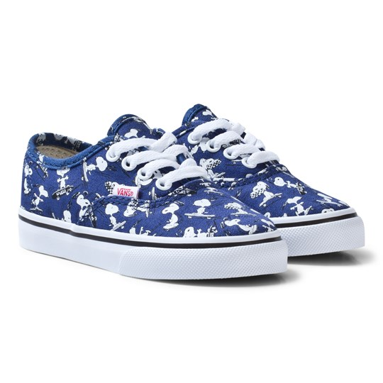 63438a86ad Vans - Kids Vans X Peanuts Authentic Shoes Snoopy Ink Blue ...