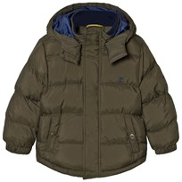 Timberland Hooded Puffer Jacket Khaki 658