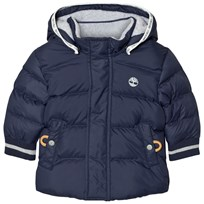 Timberland Padded Puffer Jacket Navy 85T
