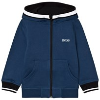 BOSS Branded Hoody Petrol Blue 804