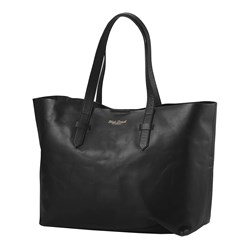 Elodie Changing Bag Black Leather