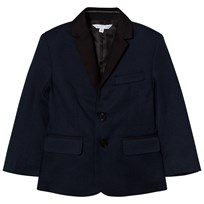 Little Marc Jacobs Navy and Black Suit Jacket 85V