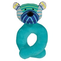 Geggamoja Bear Rattle Mixed Colors Mix