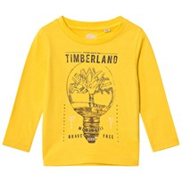 Timberland Yellow Branded Tee 566