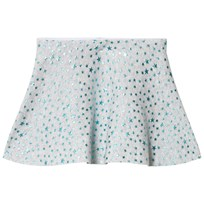 United Colors of Benetton Knit Skirt Glitter Stars Light Grey Light Grey