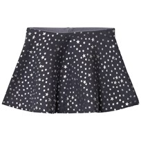 United Colors of Benetton Knit Skirt Glitter Stars Dark Grey Dark grey