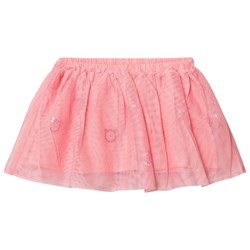 United Colors of Benetton Layered Tulle Skirt With Glitter Cats Candy Pink