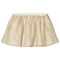 United Colors of Benetton Layered Tulle Skirt With Glitter Cats Beige Beige