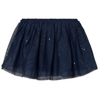 United Colors of Benetton Layered Tulle Skirt With Glitter Cats Navy Navy