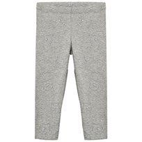 United Colors of Benetton Leggings Sparkly Cat Faces Light Grey Light Grey