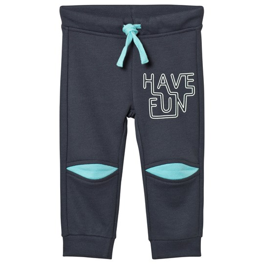 United Colors of Benetton Have Fun Jersey Jogger With Illuminous Details Dark Grey Dark grey