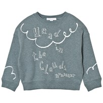 Burberry Head in the Clouds Sweatshirt Powder Blue POWDER BLUE