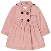 Burberry Lillybeth Trench Dress Pink Pale Rose