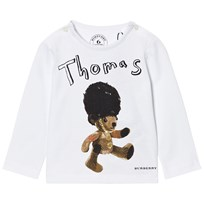 Burberry Thomas Bear Print Tee White White