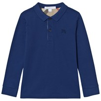 Burberry MaLong Sleeve Polo Marine Blue Marine blue