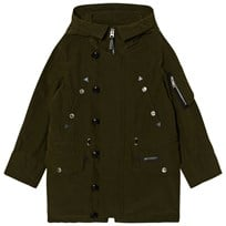 Burberry Shillington Hooded Parka Dark Olive DARK OLIVE