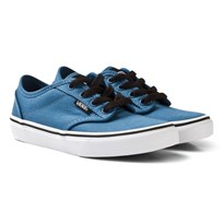 Vans Blue Canvas Atwood Trainers (Canvas) Blue Ashes/Black