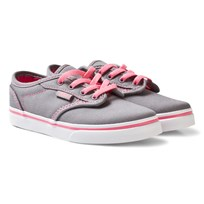 Vans Grey and Pink Lemona Atwood Trainers (Canvas) grey/pink lemona