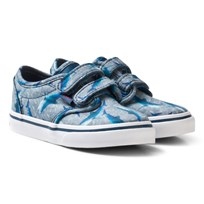 Vans Blue Sharks Atwood Trainers (Sharks) Blue