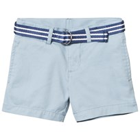 Ralph Lauren Belted Stretch Cotton Short Hampton Blue 005