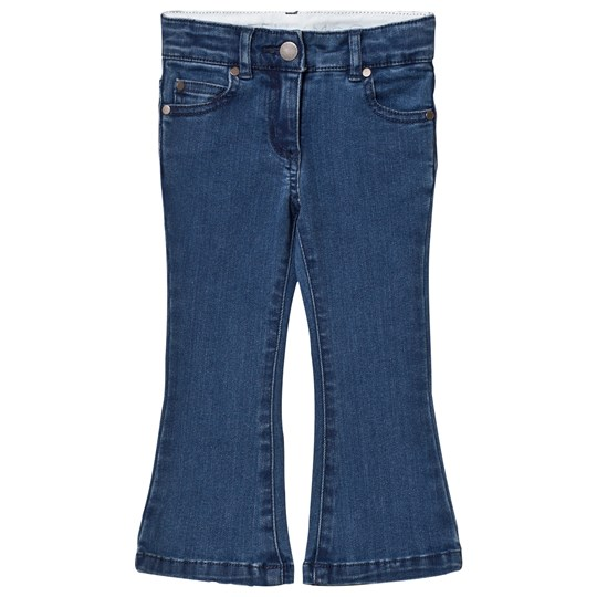 Stella McCartney Kids Mid Wash Denim Flare Jeans 4160