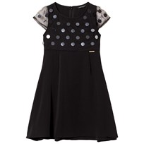 Guess Black Sequin Dress A996
