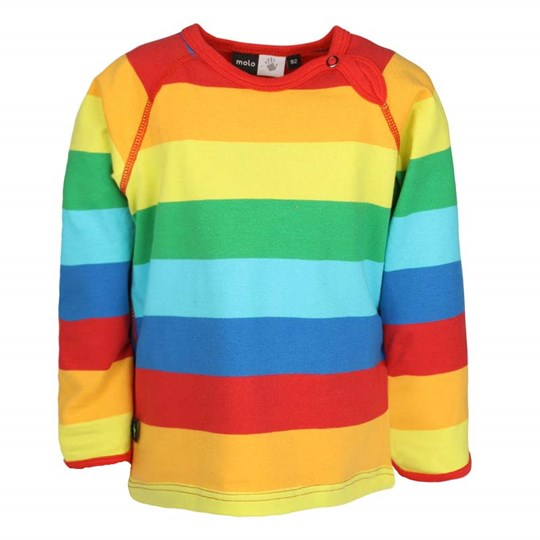 Molo Elger Rainbow Stripe Multi