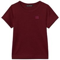 Acne Studios Mini Nash Face PAW17 Burgundy Burgundy