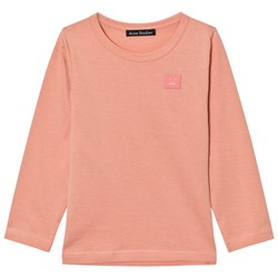 Acne Studios Mini Nash Face Long Tee Rosa