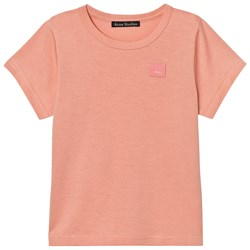Acne Studios Mini Nash Face Short Tee Rosa