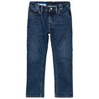 Acne Studios Bear Washed-Style Jeans Blå Mid Blue