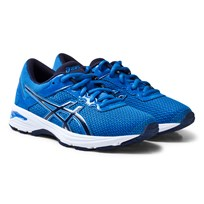 Asics Blue Junior GT-1000 6 Running Trainers DIRECTOIRE BLUE/PEACOAT/SILVER