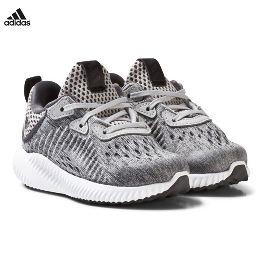 adidas Performance Grey Alphabounce Infants Trainers GREY FIVE F17/GREY TWO F17/FTWR WHITE