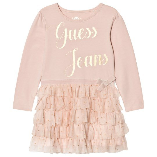 Guess Pale Pink Tulle Dress G604