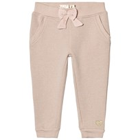 Guess Pink Glitter Sweatpants with Bow Detail G604